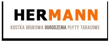 Hermann – dystrybutor kostki brukowej Radom, Mazowieckie Logo